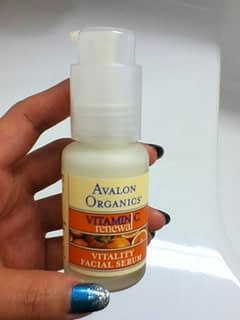 ビタミンC美容液:Avalon Organics Vitamin C Serum
