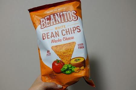 アイハーブおすすめトランス脂肪酸フリーのお菓子Beanitosホワイトビーンチップス