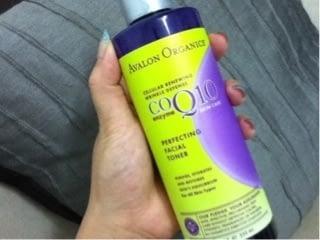 化粧水:Avalon Organics CoQ10 Repair
