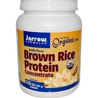 iherbプロテイン:Jarrow Formulas Brown Rice Protein