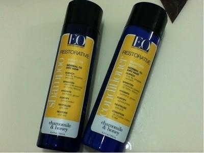ドライヘア用シャンプー:EO Products Restorative  Chamomile & Honey