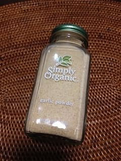 ガーリックパウダー:Simply Organic Garlic Powder