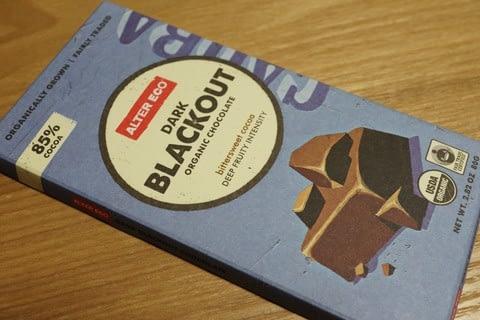 Alter Eco, オーガニックチョコレート, ダーク・ブラックアウト, 2.82 オンス (80 g)