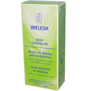 iherbセルライト解消オイル:Weleda Birch Cellulite Oil